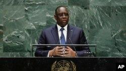 Shugaban kasar Senegal, Macky Sall