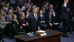 Primera audiencia de confirmación de William Barr