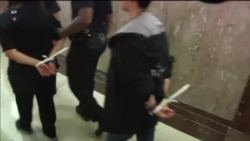 Несколько десятков активистов задержали в Сенате США