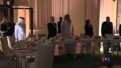 2017-04-23 美國之音視頻新聞: 美國國防部長馬蒂斯訪問卡塔爾 (粵語)