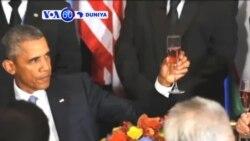 VOA60 DUNIYA: Amurka Shugaba Barack Obama Da Shugaba Kasar Rasha Vladmir Putin Sun Tattauna Akan Yakin Syria, Satumba 29, 2015