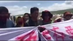 藏人组织:青海藏族牧民抗议遭警方暴力