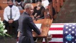 Obama Trampning tanqidlariga javob beradimi?