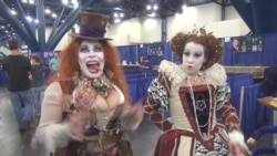 Comic Book Fans Combine Fantasy Costumes, Role Playing