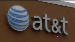 2017-11-21 美國之音視頻新聞: 美國司法部訴訟企圖阻止AT&T收購合併案 (粵語)