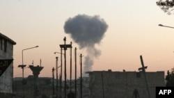 İki gün önce bombalanan Maraat el Numan