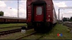 2014-07-22 美國之音視頻新聞: 馬航墜毀客機乘客遺體運抵哈爾科夫