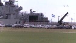 Solo un día más de oxígeno para los marineros argentinos