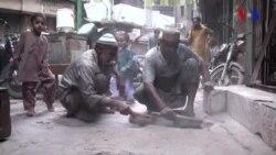 Pakistanın qeyri-adi süpürgəçiləri