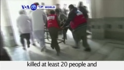 VOA60 World PM - Gunmen Kill at Least 20 at University in NW Pakistan