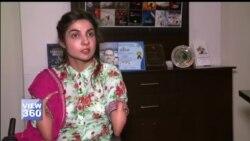 ایک باہمت پاکستانی لڑکی