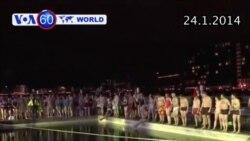 Bơi tập thể ở cảng Copenhagen, đánh dấu khởi đầu năm 'Thủ đô Xanh' (VOA60)