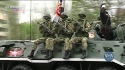 ЄС вважає, що Росія намагається поступово поглинути частини східної України – про це повідомляє Блумберг. Відео