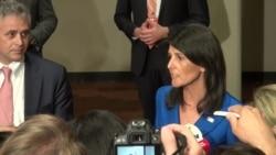 Embajadora Nikki Haley habla sobre Venezuela
