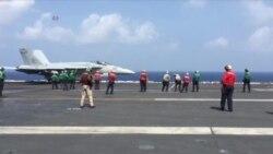 卡尔文森航母指挥官:美国会继续在南中国海巡航