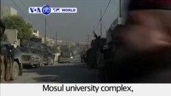 VOA60 World - Iraq: Government forces enter Mosul university complex