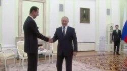 Մոսկվայում հանդիպում են ունեցել Ռուսաստանի ու Սիրիայի նախագահները