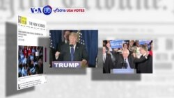VOA60 Elections - After New Hampshire Win, Sanders, Trump Eye Next Primary