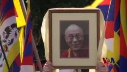 """流亡藏人华盛顿集会游行 纪念""""抗暴日"""""""