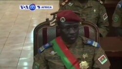 VOA60 Afirka: An Nada Isaac Zida Faras Minista, Burkina Faso, Nuwamba 19, 2014