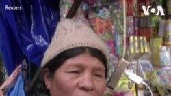应对新冠病毒爆发 玻利维亚人求助传统草药
