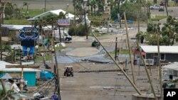 بقایای خانهها و مشاغل ویران شده بر اثر توفان آیدا - ۹ شهریور ۱۴۰۰