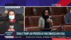 Laporan Langsung VOA untuk Kompas TV: Trump Jadi Presiden AS yang Dimakzulkan 2 Kali