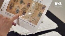 Марки та конверти: син українських емігрантів розповідає американцям про історію України у незвичний спосіб. Відео