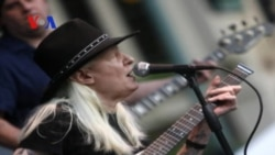 Johnny Winter: America's 'Down and Dirty' Bluesman (VOA On Assignment July 25, 2014)