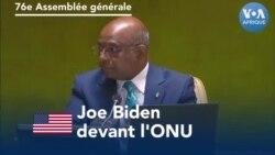 Joe Biden devant l'ONU