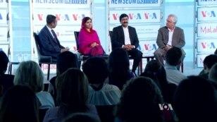 ملالہ یوسفزئی کی وائس آف امریکہ کی تقریب میں شرکت