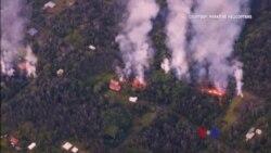 2018-05-07 美國之音視頻新聞: 基拉韋厄火山爆發摧毀最少26棟住宅