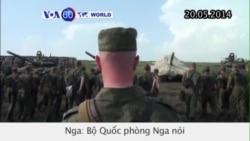 Binh sĩ Nga chuẩn bị rời khỏi Ukraine (VOA 60)