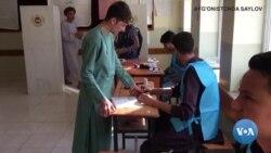 Afg'onistonda prezident saylovi o'tkazildi
