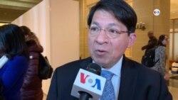 Embajador de Nicaragua Denis Moncada rechaza reunion en la OEA