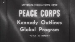 60 години од американскиот Мировен корпус