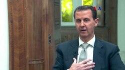 Al-Assad niega haber usado armas químicas