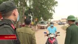 10.000 dân ở xã Sơn Lôi, Vĩnh Phúc, bị cách ly vì corona