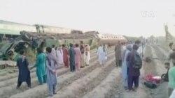 巴基斯坦火車相撞造成3死50多傷