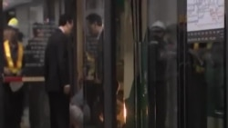 南韓地鐵追尾事故,200人受傷