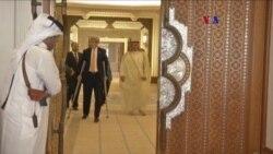 Kerry promueve acuerdo nuclear con Irán en Oriente Medio