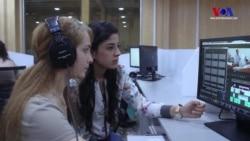 Suriye'de Tamamı Kadınlardan Oluşan İlk Televizyon Kanalı