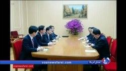 دیدار هیئت کره جنوبی با رهبر کره شمالی در پیونگ یانگ