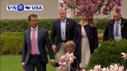 Manchetes Americanas 9 de Maio: Presidente Trump promete fundos federais à Flórida