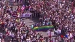 數十萬人湧入馬德里參加同性戀權益大遊行 (粵語)