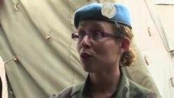 联合国维和部队的女队员