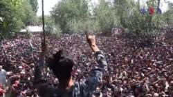 بھارت کے زیرِ انتظام کشمیر میں ہلاکتیں اور مظاہرے