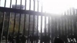 معترضان در دانشگاه تهران: اصلاح طلب، اصولگرا، دیگه تموم ماجرا