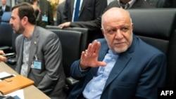 伊朗石油部長贊加內(Bijan Zanganeh)