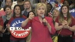 Clinton y Trump dominan recta final